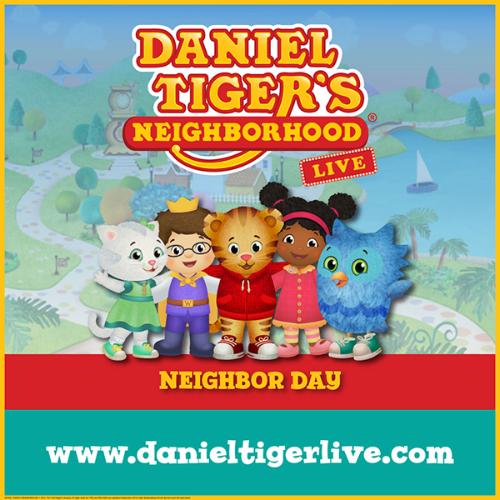 More Info for Daniel Tiger's Neighborhood Live