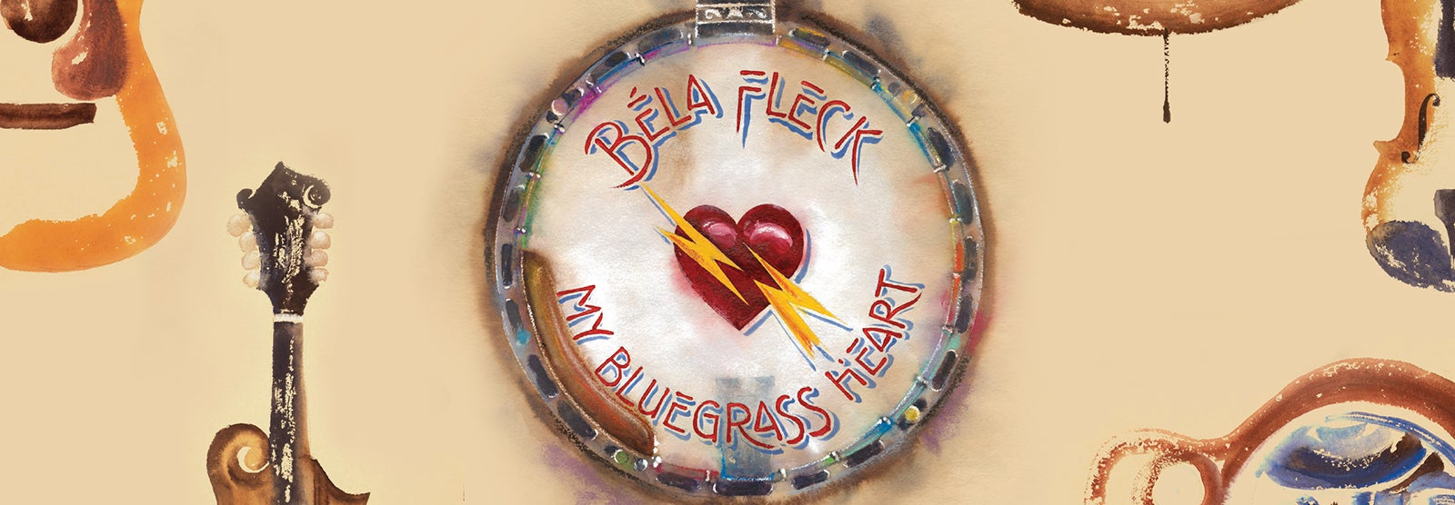 Béla Fleck My Bluegrass Heart