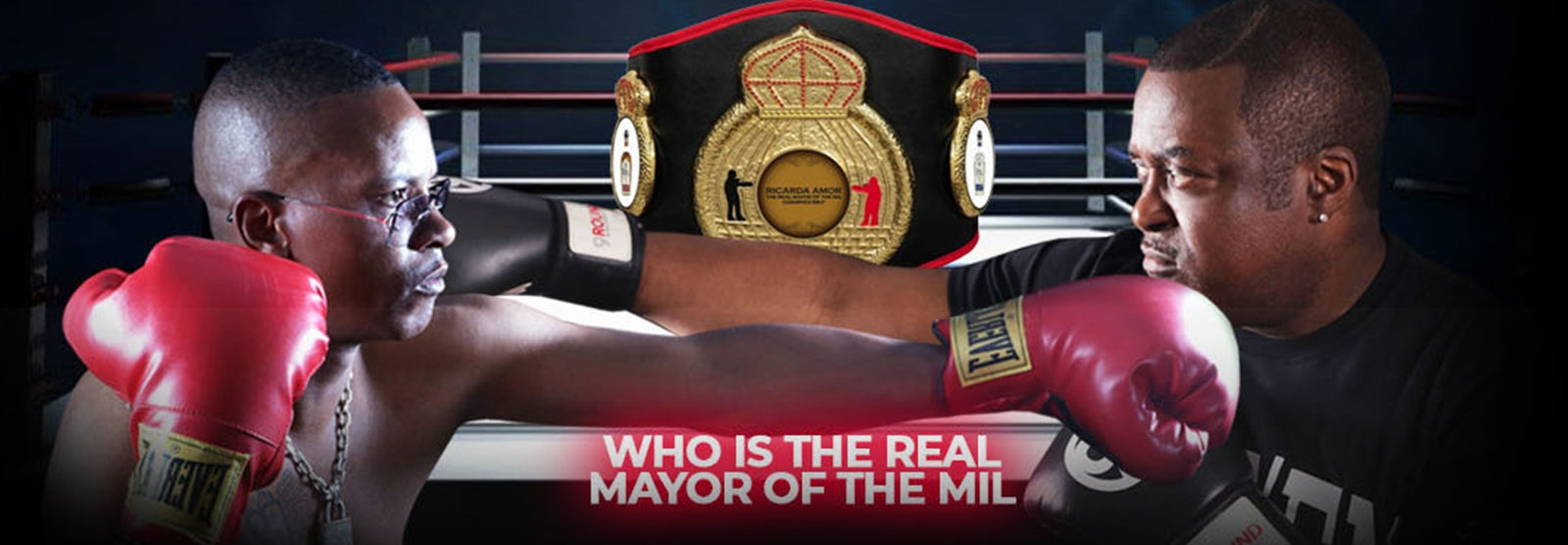"Celebrity Boxing Match: O.G. TWEEZY vs REGGIE ""SMOOTH  AZ BUTTA"" BROWN"