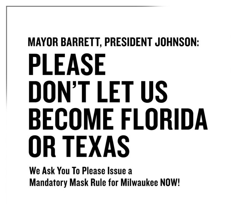 More Info for The Pabst Theater Group Joins Milwaukee Businesses in Calling for a City Mandated Mask Requirement
