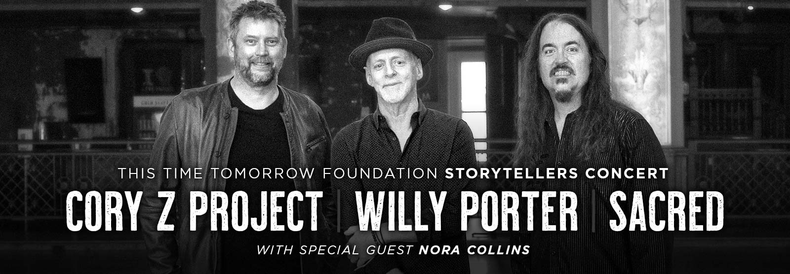 This Time Tomorrow Foundation Storytellers Concert