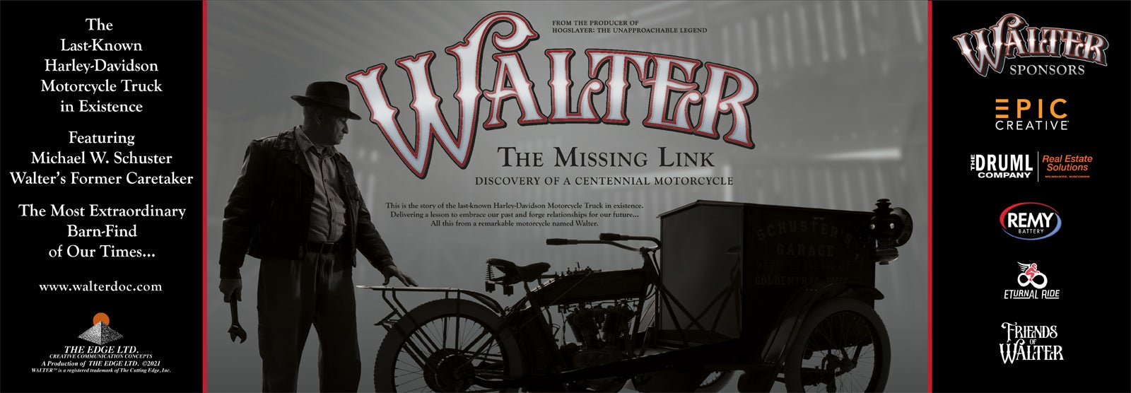 Walter: The Missing Link Discovery of a Centennial Motorcycle