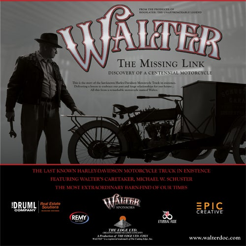 More Info for Walter: The Missing Link Discovery of a Centennial Motorcycle